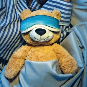 What is the best sleeping position - teddy bear sleeping