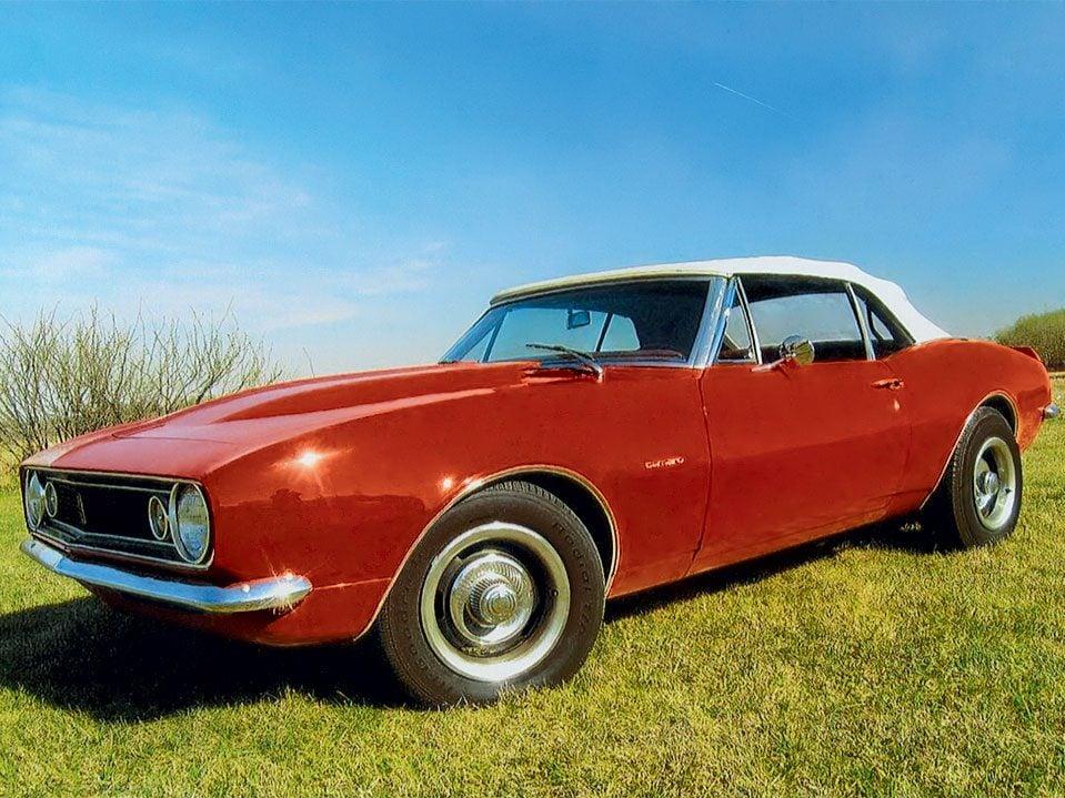 1967 Camaro convertible