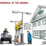 Meanwhile, at the Garage: A Cartoon Tribute to Small Town Hijinks