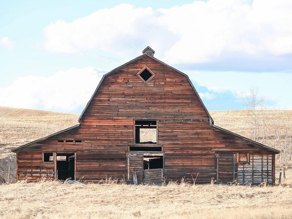 Barn in St. Paul County, Alberta