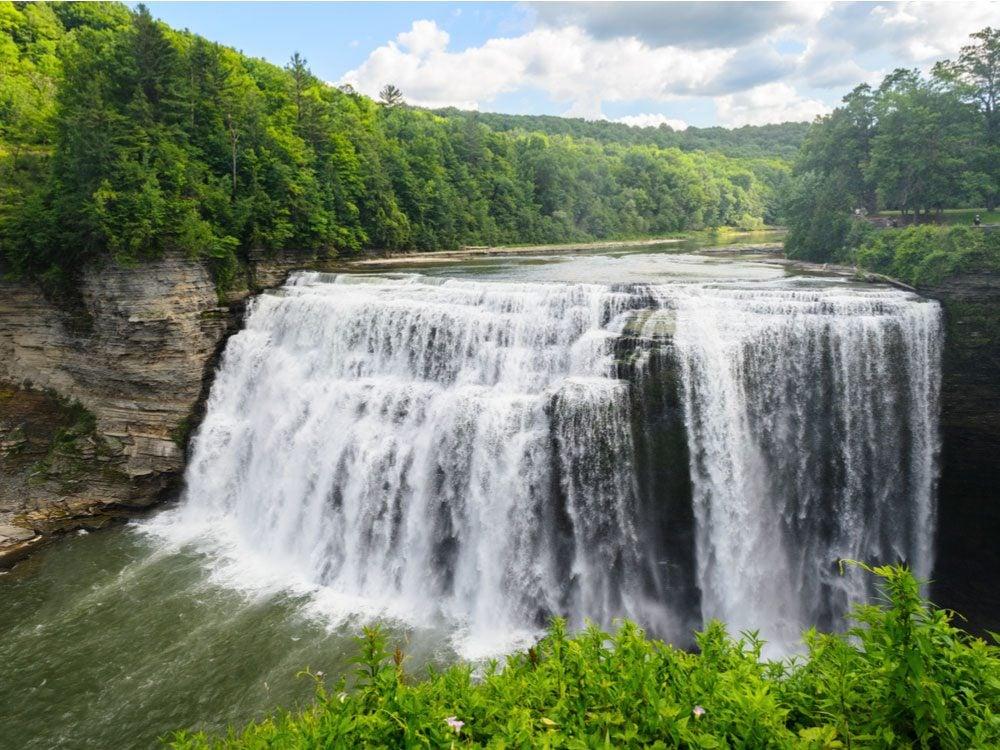 Genesee Falls, New York