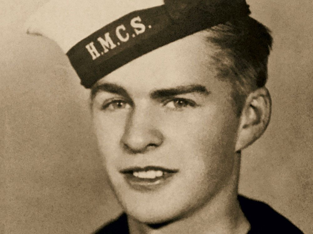 Canadian veteran Jack Mitchinson
