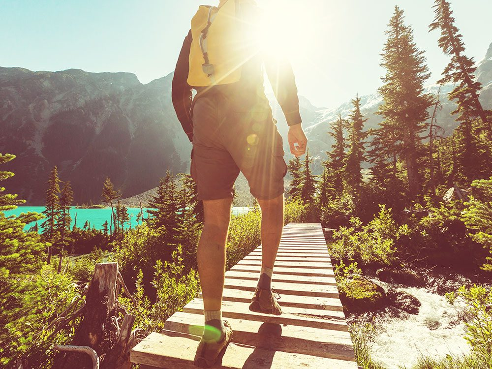 Lose weight without exercise: Take a mountain vacation