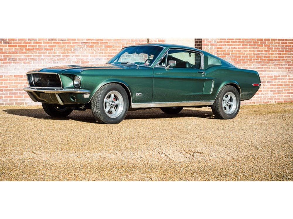 '68 Mustang from film, Bullitt