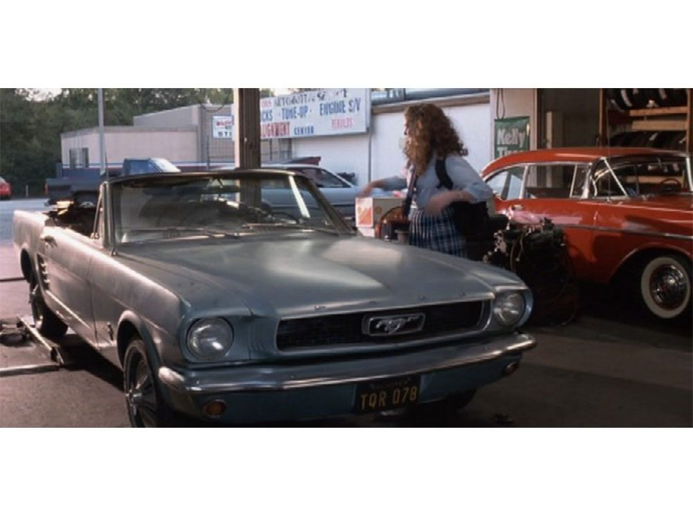 "1966 Ford Mustang from ""The Princess Diaries"""