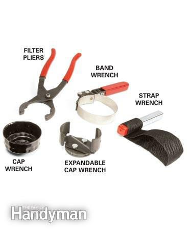 Oil filter wrenches