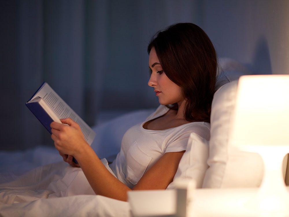 Read something new to fall asleep fast