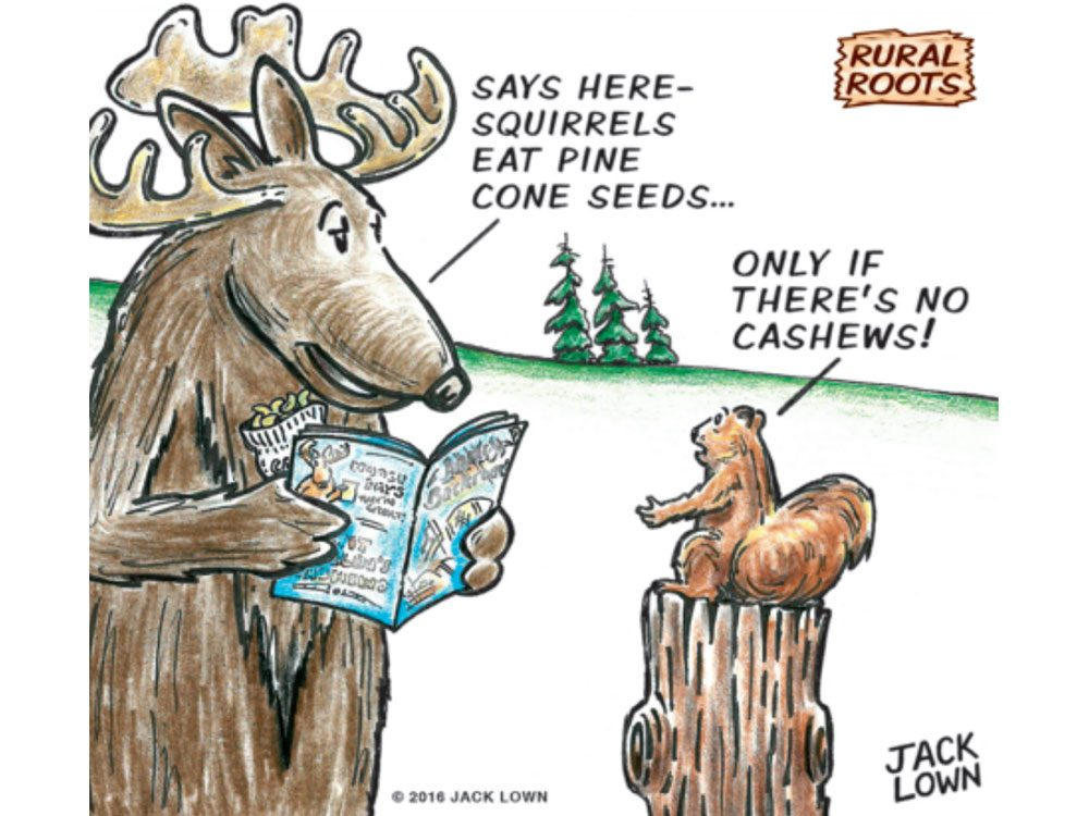Rural roots cartoon
