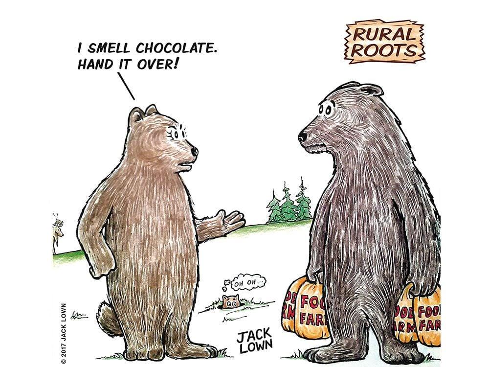Rural roots cartoon
