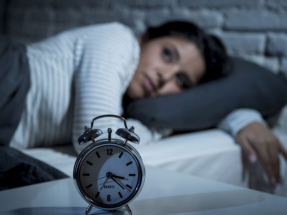 Stop wanting to fall asleep fast