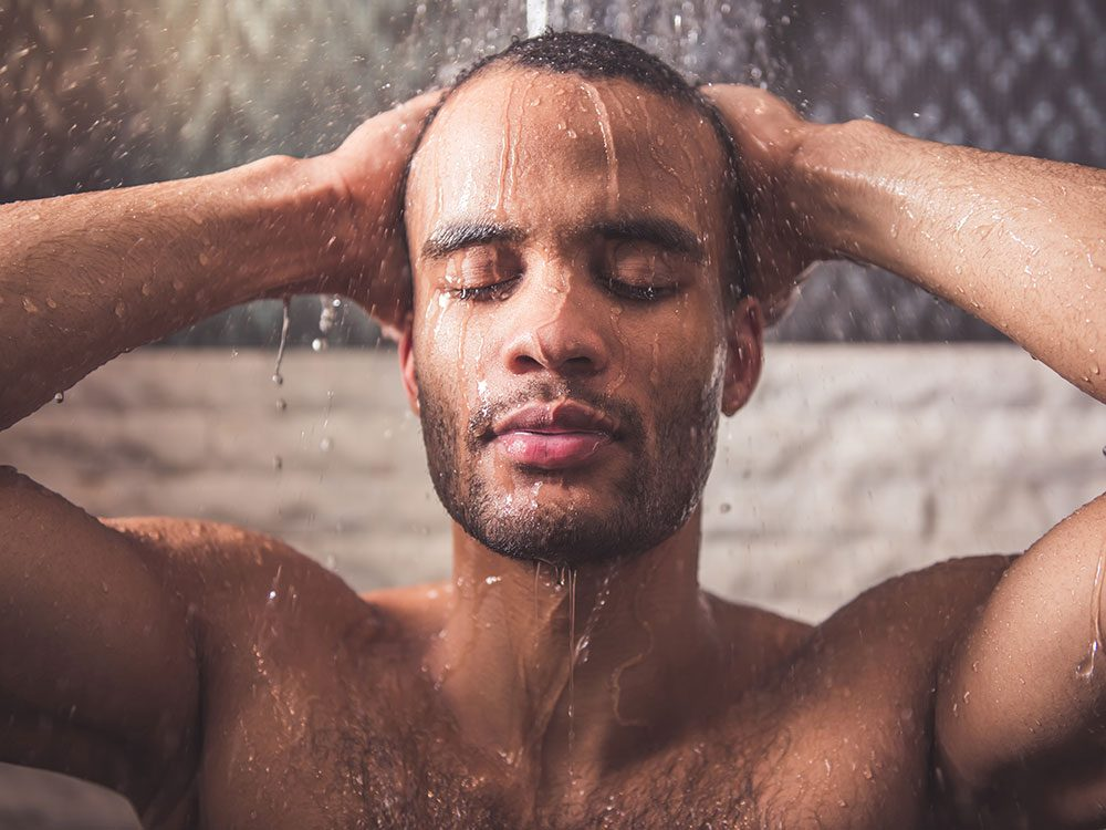 Take a warm shower to fall asleep fast