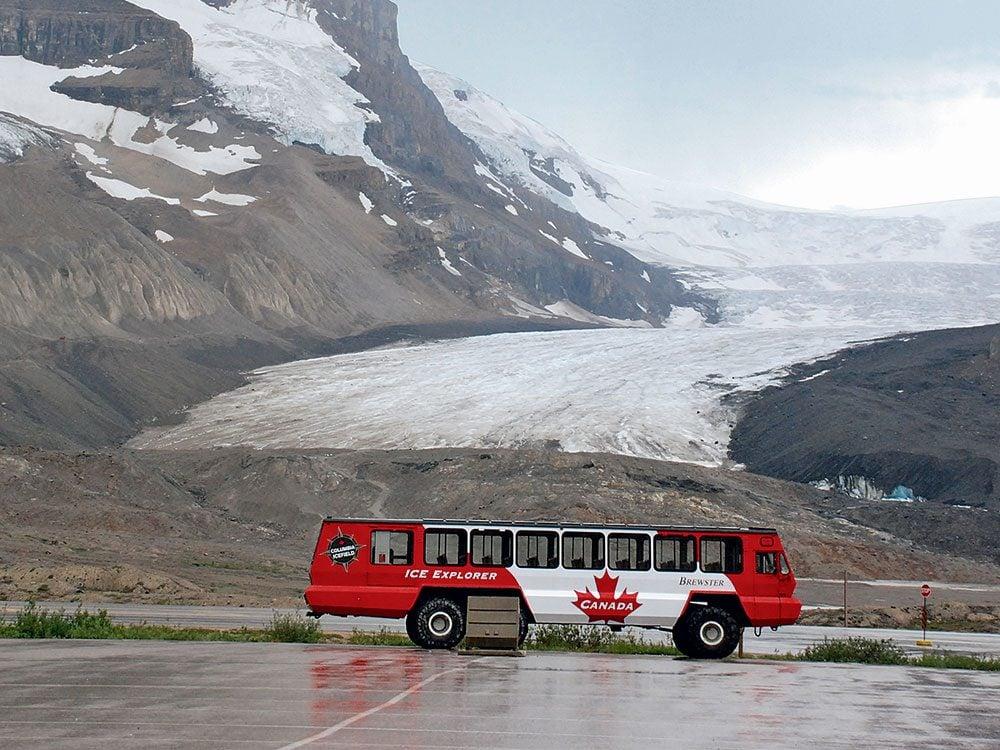 Athabasca Glacier Ice Explorer