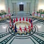 Welome to Argyle, Manitoba: Home to the Canadian Flag Collection