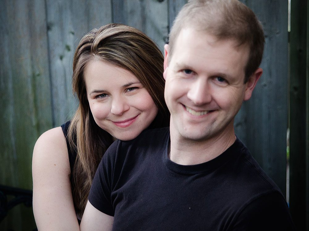 The creators of Come From Away