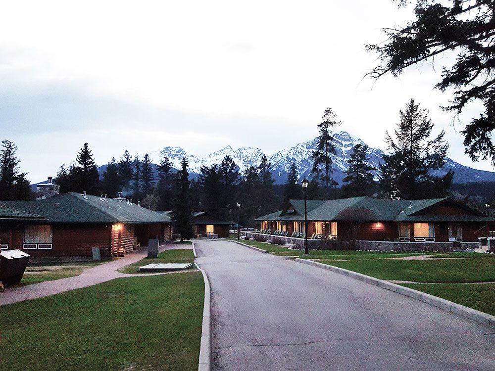Cabins at Fairmont Jasper Park Lodge