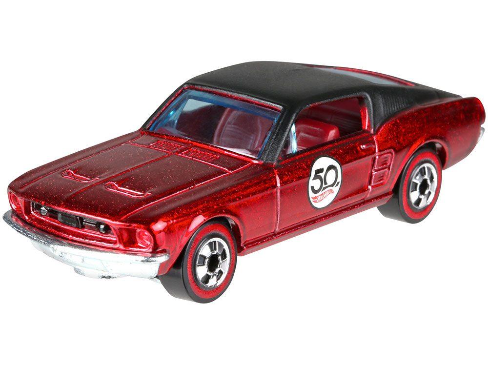 Ford Mustang Hot Wheels car