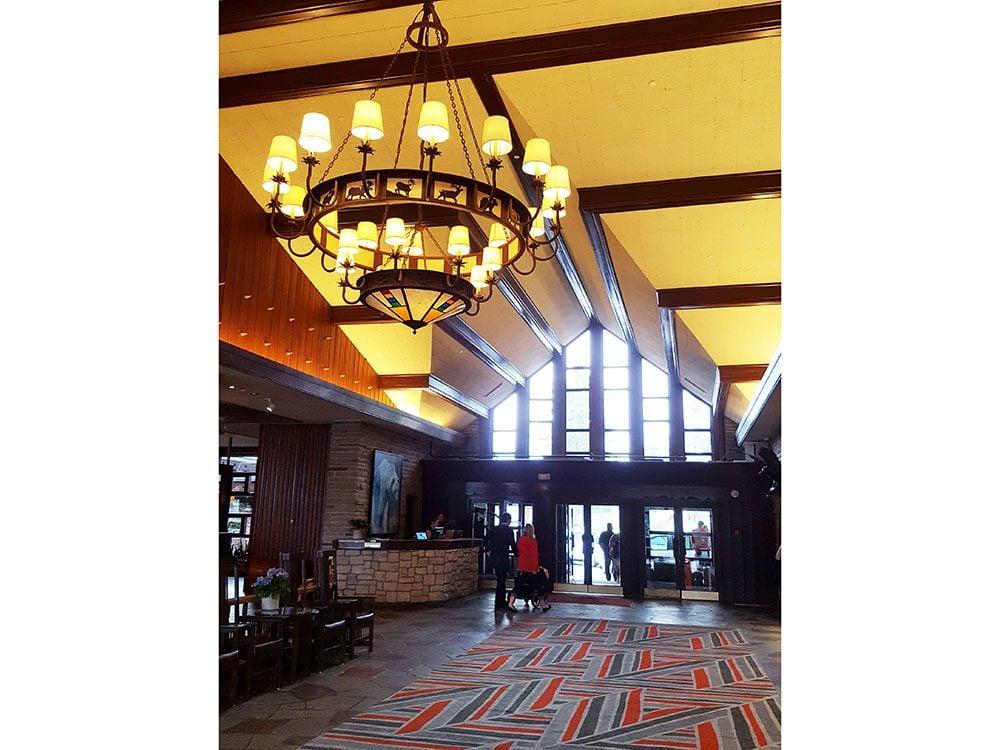 Lobby at Fairmont Jasper Park Lodge