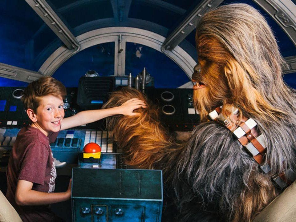 Madame Tussaud Star Wars Experience