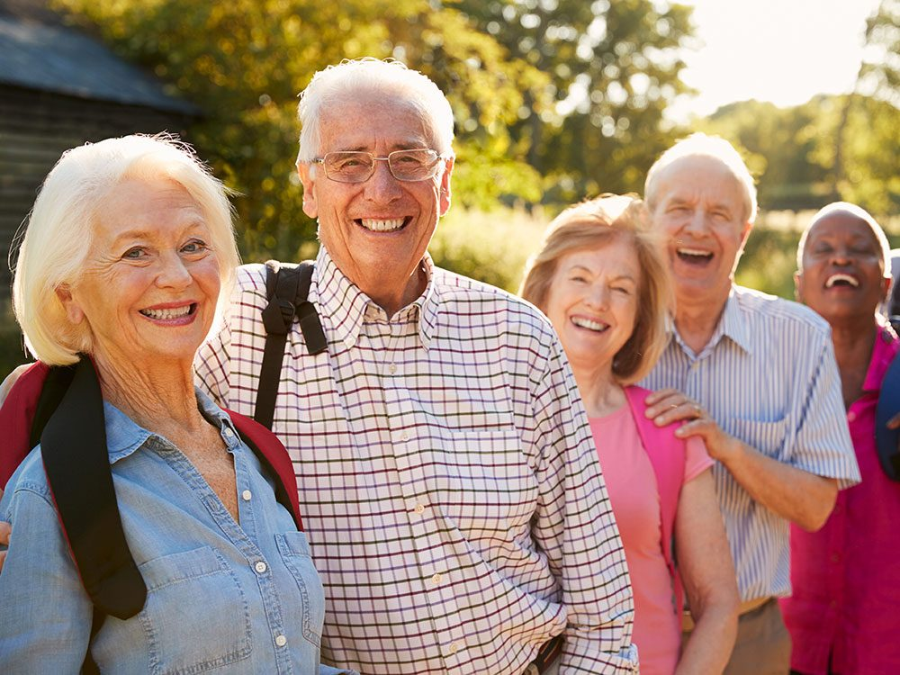 New health studies - social seniors