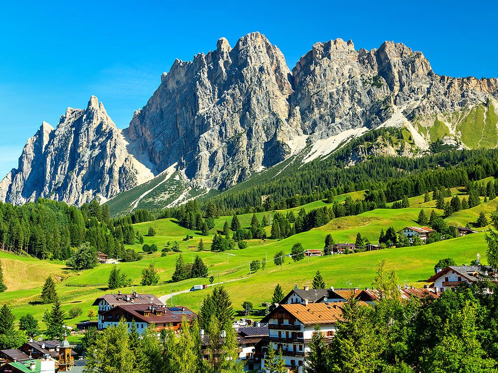 Star Wars filming locations: Northern Italy, Dolomites