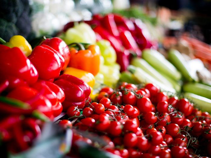 Top organic foods to buy - Produce at grocery store