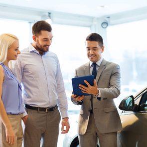 Car dealer tricks - dealing with clients