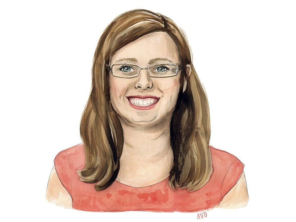 Royal historian Carolyn Harris