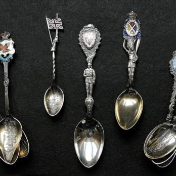 Check Out This Canadian's Amazing Souvenir Spoon Collection!