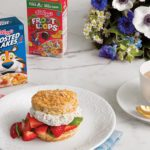 Frosted Flakes scones