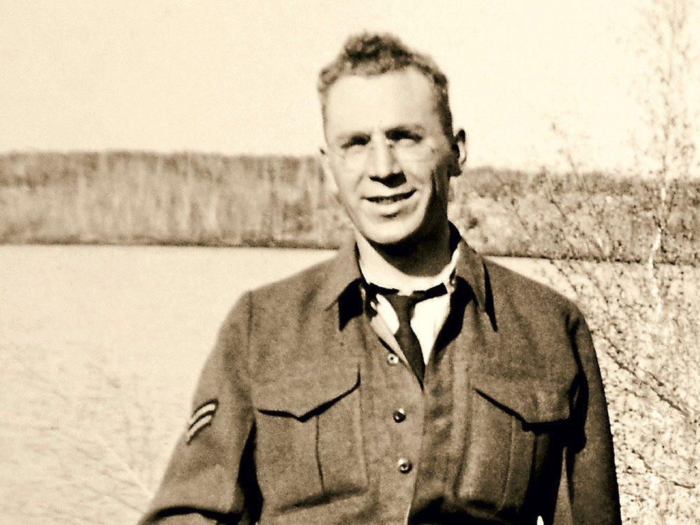 Canadian veteran Hubert Landry