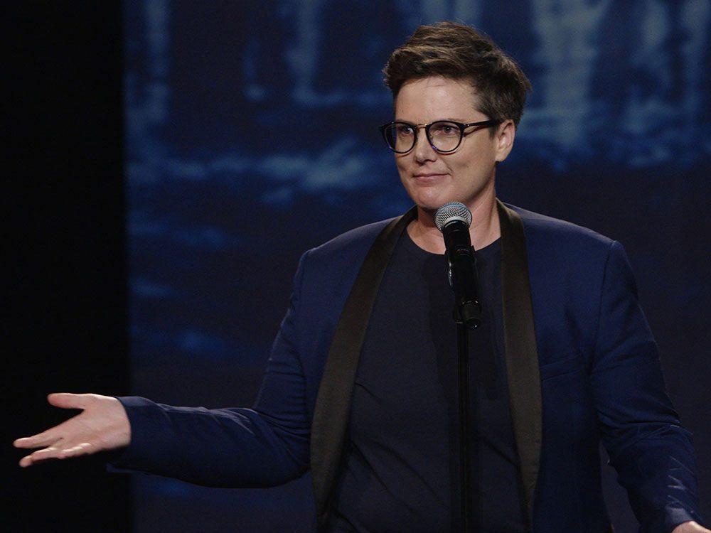 Australian comedian Hannah Gadsby