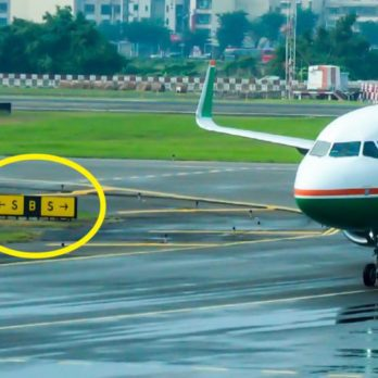 This Is What Those Airport Taxiway Signs Mean