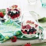 Berry Yogurt Swirl with Walnuts and Pepitas
