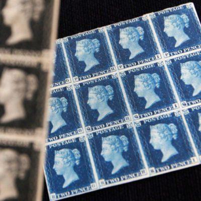 Queen Elizabeth II's stamp collection