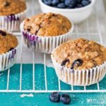 Blueberry and Oat Breakfast Muffins