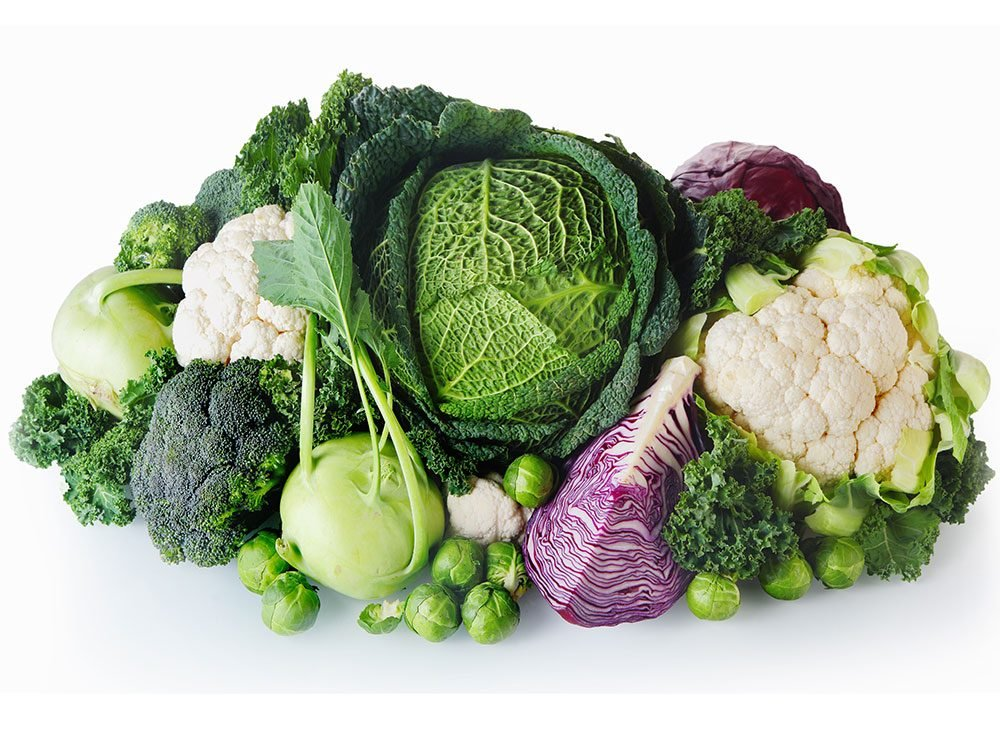 Brassica oleracea includes cauliflower, broccoli, kale and cabbage
