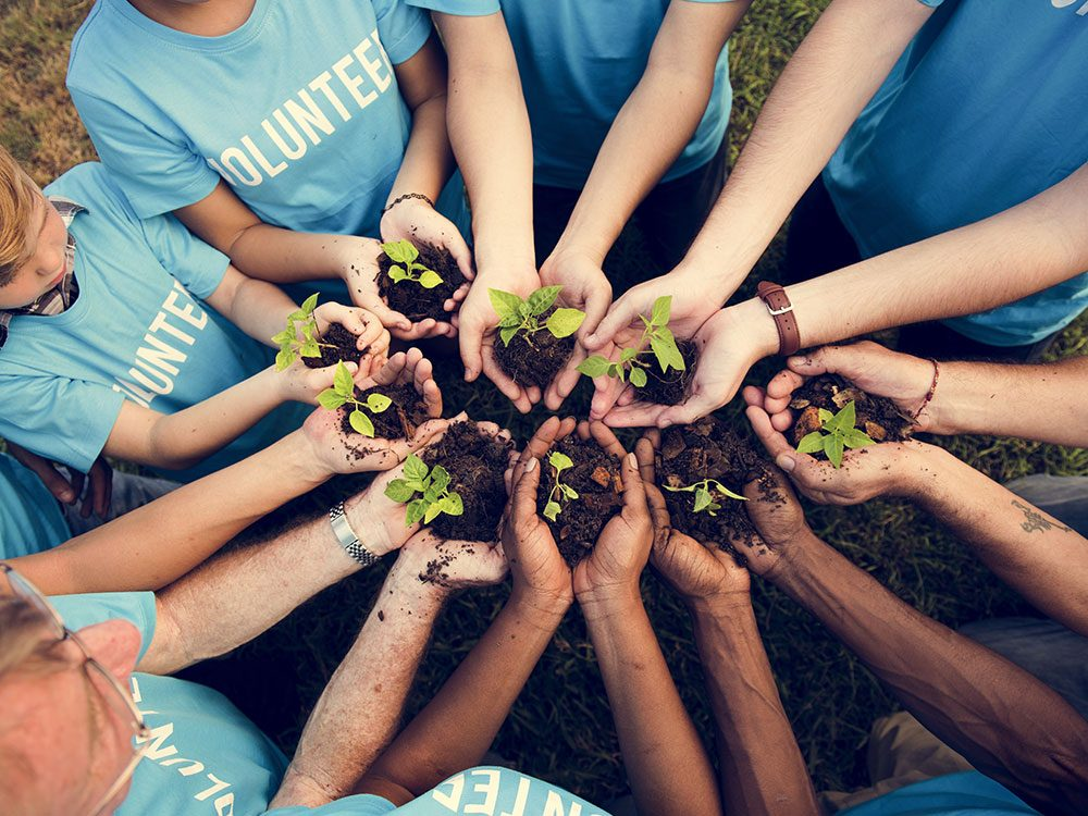 Change the world by volunteering