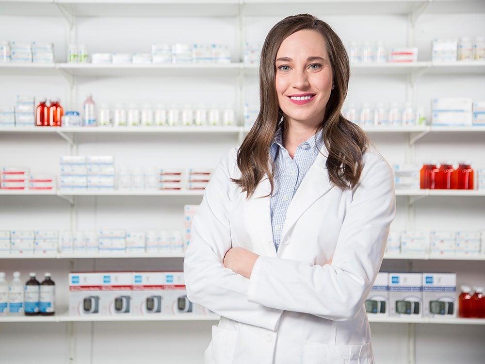 Pharmacist Jaclyn Makowichu