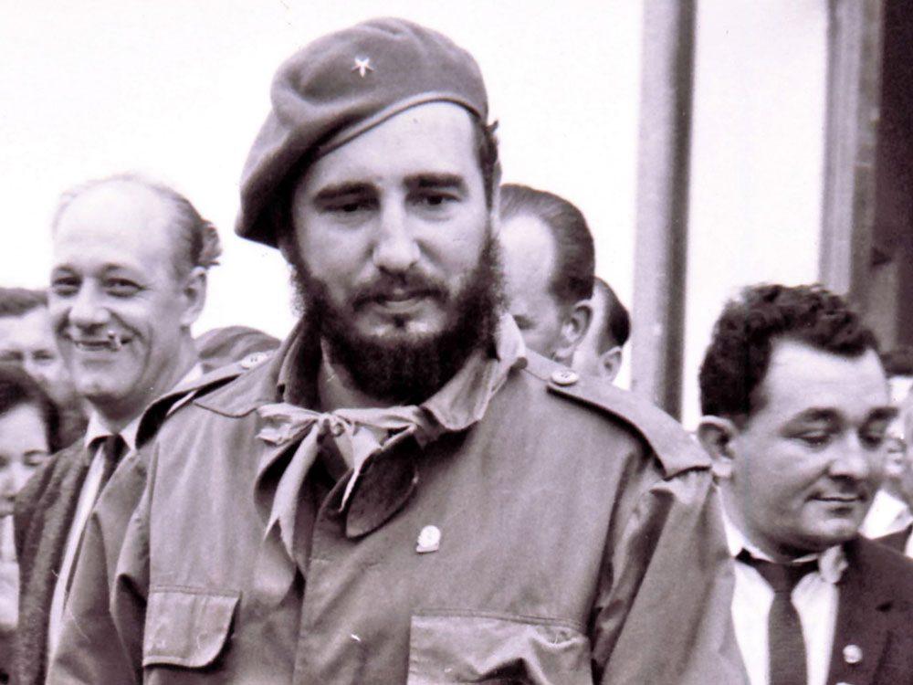 Fidel Castro in 1963