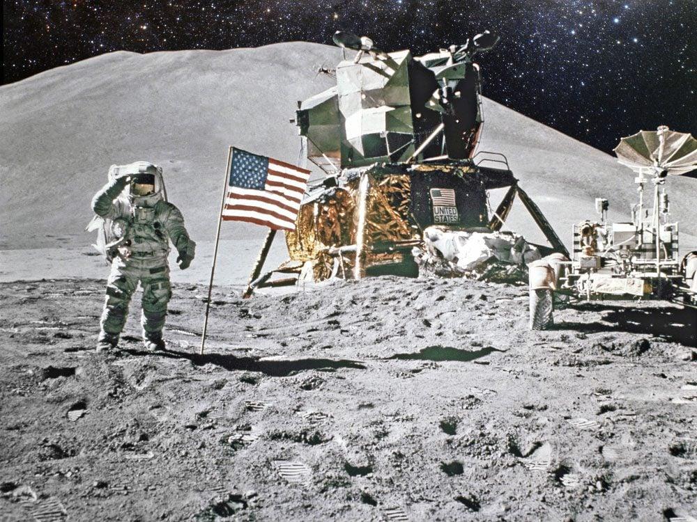 Moon landing in 1969