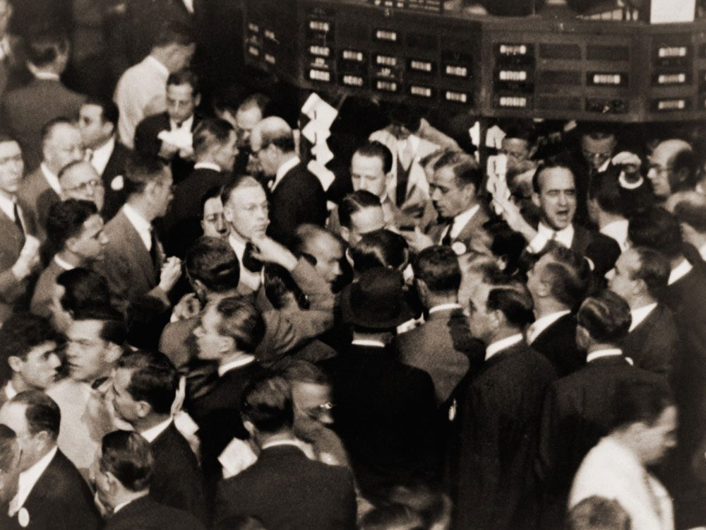 Stock market collapse of 1929
