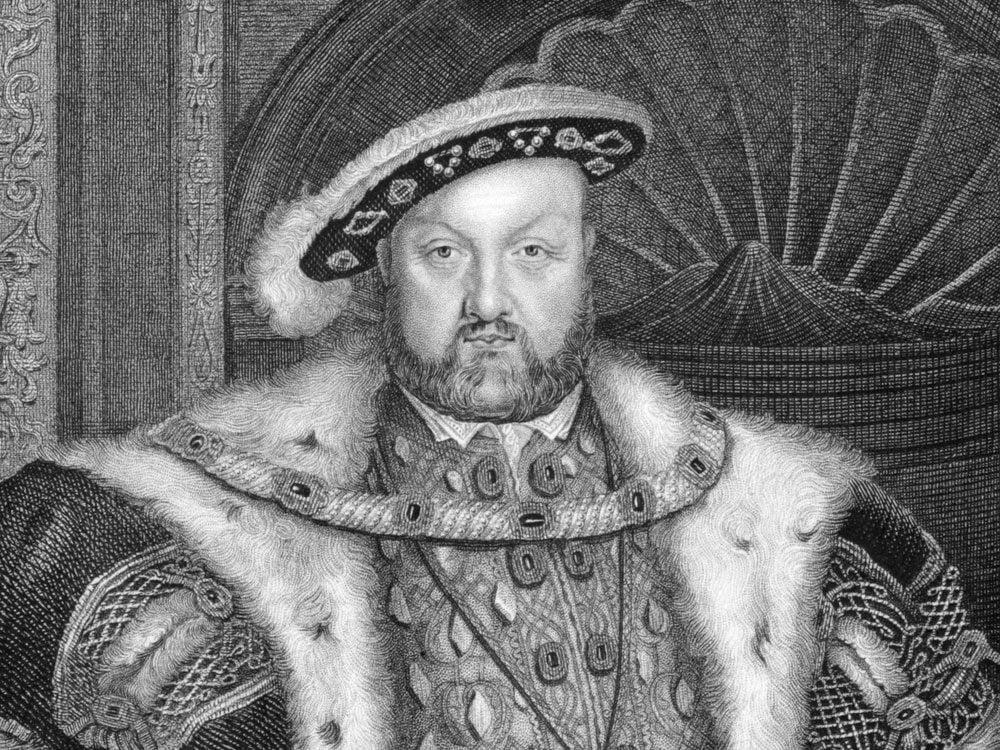 Sketch of King Henry VIII