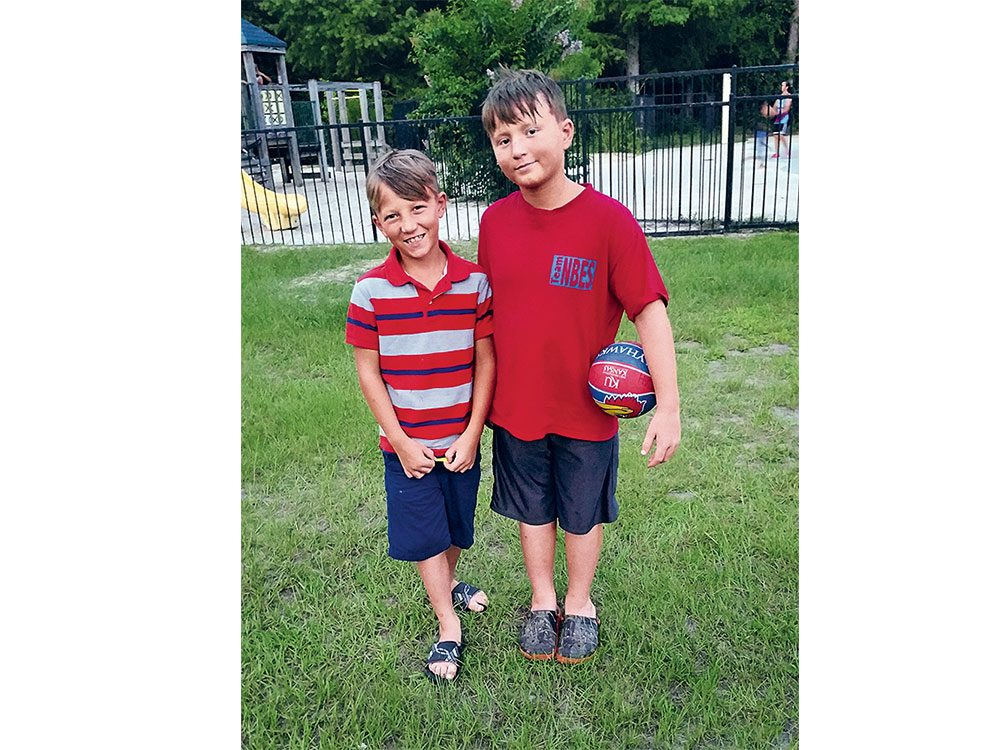 Brothers Stephen and Noah Ursrey