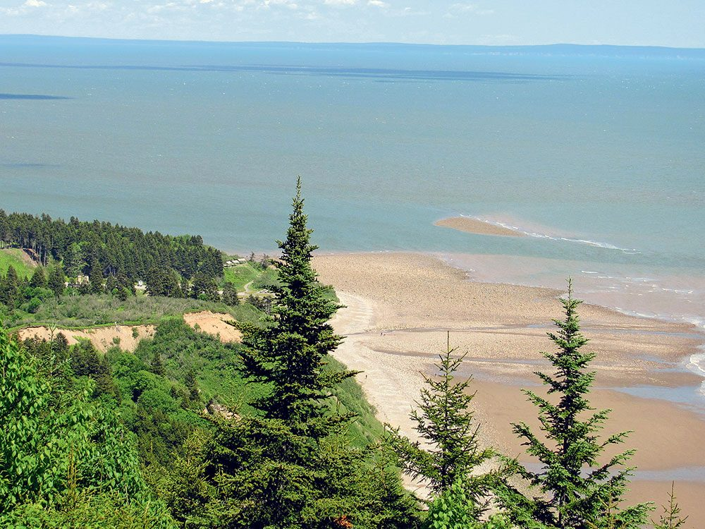 Fundy Trail: Long Beach