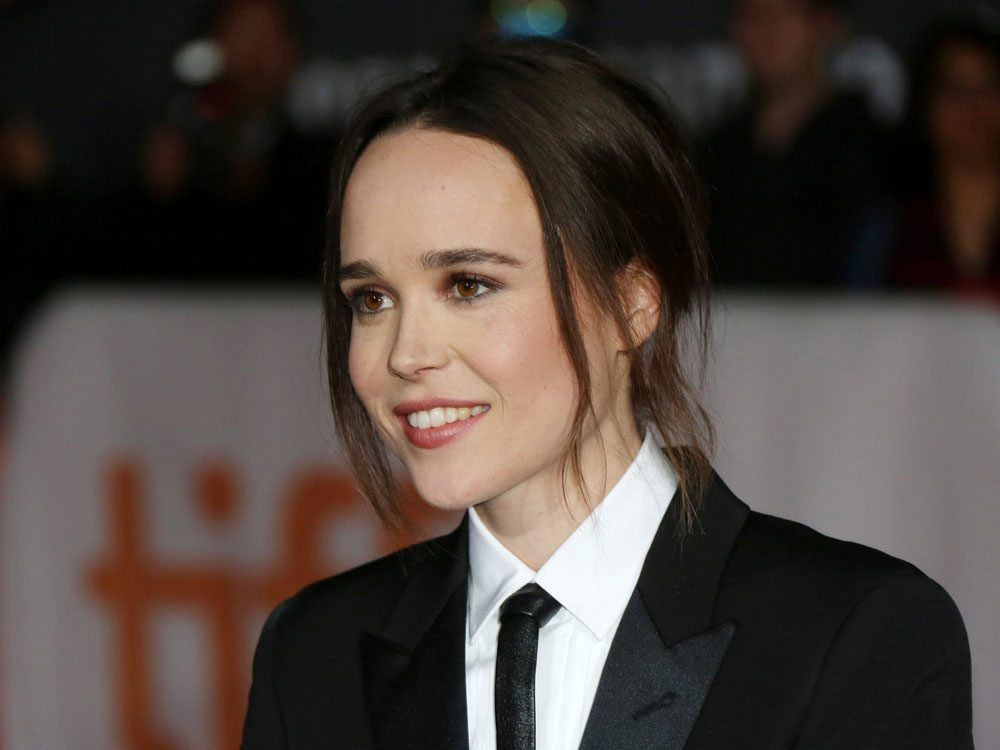 Ellen Page at the 2015 Toronto International Film Festival