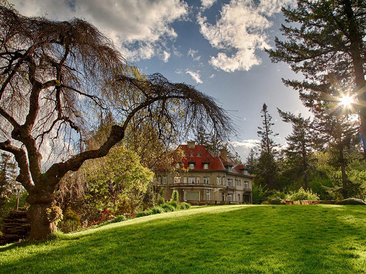 Haunted house mysteries - Pittock Mansion, Portland, Oregon