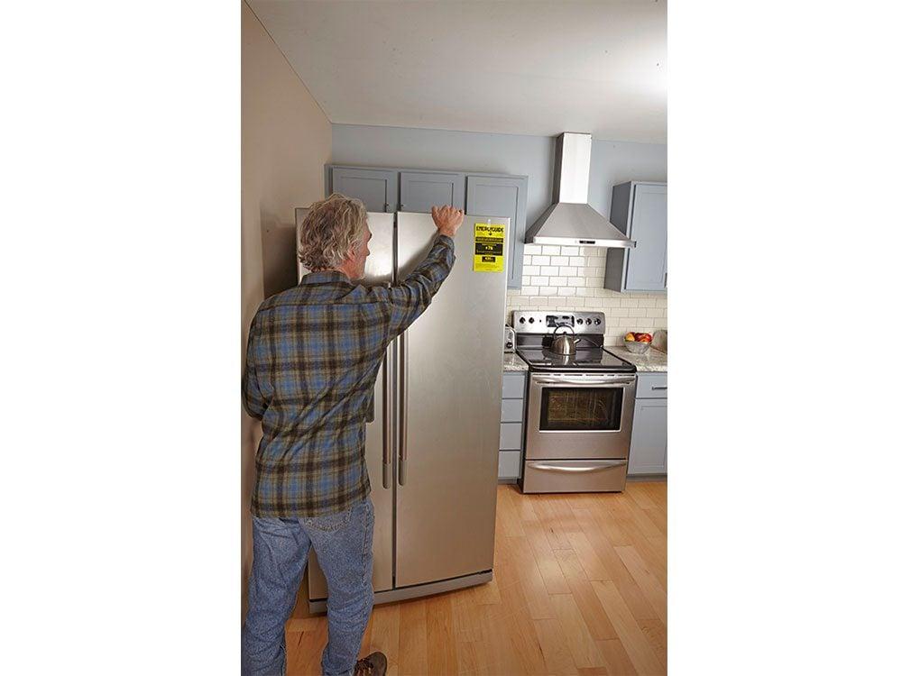 Unclog refrigerator coils