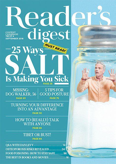 Reader's Digest Canada - September 2018