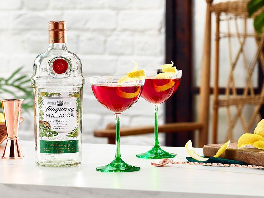 Tanqueray Martinez recipe