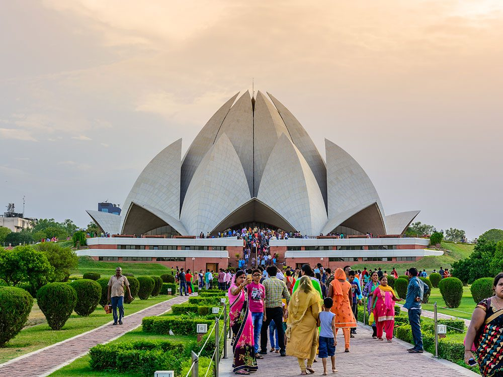 Things to do in Delhi: Lotus Temple